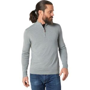 New Smartwool Sparwood 1/2 zip sweater XL